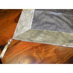 Paravent peint en relief (cuivre & doré)