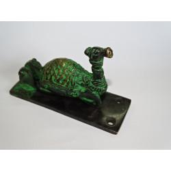 Cadenas en bronze 'Ganesh vert'