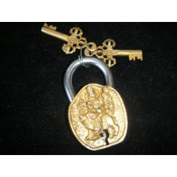 Cadenas en bronze 'shiva or'