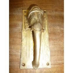 patère céramique 10x10cm oiseau jaune