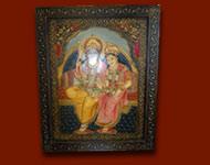Peintures indiennes réalisées par les artistes du Rajasthan (Jodhpur, Udaipur et Jaipur). Toutes ces peintures sont sur toile et sur bois !
